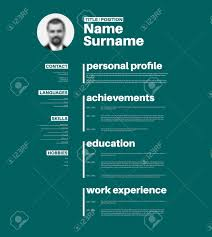 vector mini st cv resume template nice typogrgaphy vector vector mini st cv resume template nice typogrgaphy design teal version