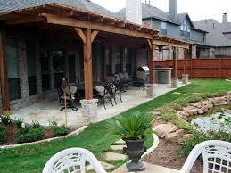 Backyard Concrete Designs Delectable Backyard Porch Designs 48 Bestpatogh