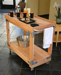 DIY bar cart with Simpson Strong-Tie Workbench/Shelving Hardware Kit