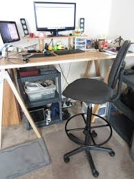 stand up desk chair and ideas pictures drafting