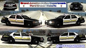grand junction police department ford crown victoria vehicle textures lcpdfr