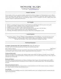 Resume Skill Set