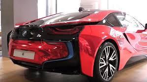 bmw 2015 i8 red. Delighful Red Chrome Red BMW I8 In Bmw 2015 I8 Inside EVs