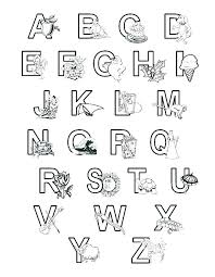 Alphabet Coloring Pages Pdf Alphabet Coloring Pages Printable