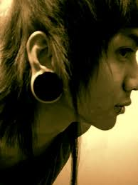 biggest gauge size ear gauge size 1 inch three8s by neth7 on deviantart