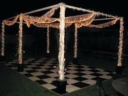 Outdoor Dance Floor Ideas Lighting Cheap