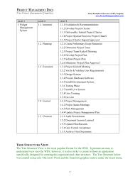 Work Breakdown Structure (Wbs) Template In Word And Pdf Formats ...