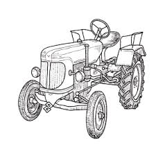 Leuk Voor Kids Tractors Kleurplaten