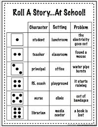 ideas about Writing Games on Pinterest   Whole Brain     Roll A Story  is a fun way to develop story writing skills  and vocabulary  This is an example that can be used and built upon