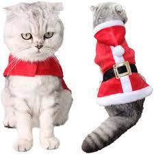 kungfu Mall <b>Christmas Pet</b> Costumes Santa <b>Hat</b> and Collars Necktie ...