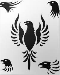 Plakát Tetování Orel Pixers žijeme Pro Změnu