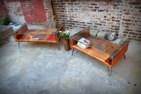 Industrial Fan Coffee Table Recycled Brooklyn