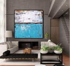 Turquoise Living Room Turquoise Wall Art Etsy