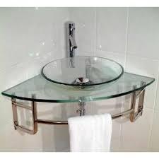 corner sinks for small bathrooms. Glass Corner Sink · BathroomBathroom IdeasBathroom Sinks For Small Bathrooms A