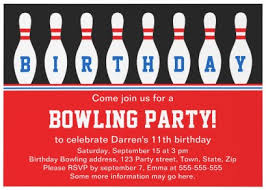 bowling invitation templates bowling birthday party invitation wording ideas new party ideas