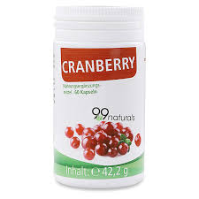 99naturals Cranberry Kapseln I Pro Kapsel 314 Mg Cranberry Extrakt