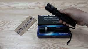 So Sánh Đèn Pin Chích Điện T10 Và 1101 - Zalo : 0353326050 - YouTube