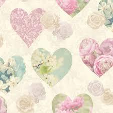 Pink Bedroom Wallpaper Heart Themed Wallpaper Girls Bedroom Pink Various Designs