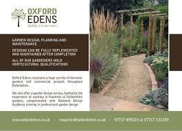 Small Picture Garden Design Oxford Edens