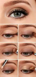 for this you need a brown color kajal pencil bronze eye shadow and eye makeup brush to give the smudged look
