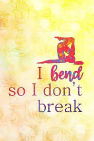 I Bend So I Don't Break: Blank Lined Notebook Journal Diary Composition  Notepad 120 Pages 6x9 Paperback by Kelly Jacobs