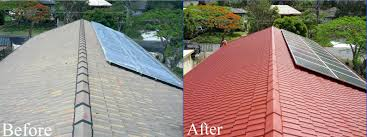 can you paint cement tile roof designs