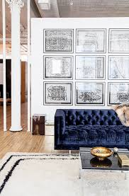 tufted furniture trend. Wonderful Trend How To Choose A Sofa Tufted And Navy Pertaining Blue   Throughout Furniture Trend E