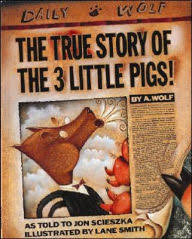 le the true story of the three little pigs author jon scieszka