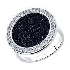 Характеристики модели SOKOLOV <b>Кольцо из серебра</b> с ...