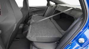 2017 honda civic si sedan interior rear seats wallpaper