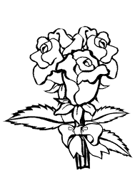 Small Picture Rose Coloring Pages Coloring Pages Kids