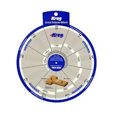 Kreg Jig Different Thickness Kreg Ssw Screw Selector Wheel Thickness For Kreg Jig K3 K4 K4ms