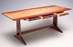 1. Design And Build A DIY Trestle Table Designer Wood Furniture Popular Woodworking Magazine