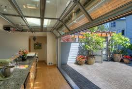 Image Centralazdining Glass Garagedoorstyle Windows door In The Kitchen Opens This Room Up To The Outside Pinterest Glass Garagedoorstyle Windows door In The Kitchen Opens This
