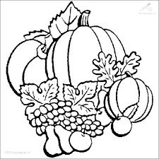 1001 Kleurplaten Seizoen Herfst Kleurplaat Herfst Pompoen