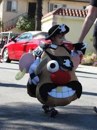boy in mr potato head costume for haute dog parade 2010