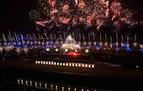 Arts Outdoor Lighting Technology Ao Creative Supports Bws For Dubai World Cup Arts Outdoor