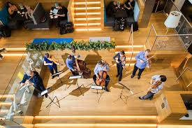 I thought this is a wonderful project! The Netherlands Bach Society Gives Surprise Concert To Klm For 100th Anniversary