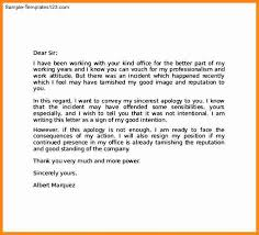 Best Solutions Of Apology Letter For Leaving Job Without Notice 10