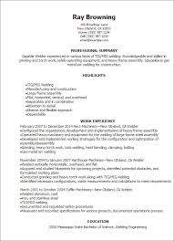 Welder Resume Sample Templates Compliant Photoshots Although Kevincu