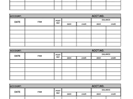 General Ledger Template Printable Small Business Spreadsheet Or General Ledger Template Printable