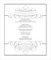 Word Templates Menu Menu Card Template Instant Download Edit Yourself Damask Word