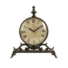 eilard iron table clock