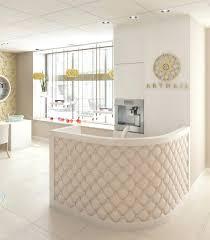 small salon reception desk reception desks featuring interesting and intriguing designs white salon reception desk uk