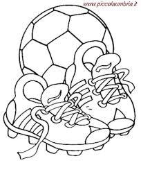 Scarpe Da Calcio Da Colorare Piccolaumbriait