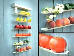 countertop vegetable storage fruit vegetable storage homemade and ideas for improved kitchen organization best countertop vegetable storage bin