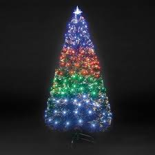 Tabletop Fiber Optic Christmas Tree At OverstockcomBlack Fiber Optic Christmas Tree