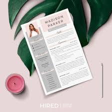 Modern Resume Tumblr Resume Template Tumblr