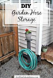 garden hose storage ideas. Diy Garden Hose Storage, Gardening, Landscape, Organizing, Outdoor Living, Storage Ideas S
