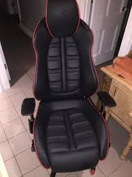 ferrari 458 office desk chair carbon. Image May Contain: People Sitting Ferrari 458 Office Desk Chair Carbon